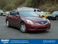 Options:  2012 Nissan Altima 2.5 S|Maroon/Charcoal|V4