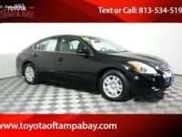 Options:  2012 Nissan Altima 2.5 S|Black|Cvt With