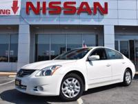 * - - -  JUST ARRIVED - - - This White 2012 Nissan