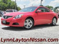 (Stk$ 5-9275) 2012 Nissan Altima Coupe 2.5 S: power,
