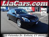 Zoom Zoom Zoom! This sultry 2012 Nissan Altima 3.5 SR