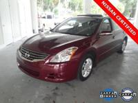 ** 2012 Nissan Altima 2.5 SL ** Leather ** MOONROOF **