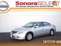 2012 NISSAN ALTIMA 2.5S, 2.5L I4 CVT, ONE OWNER,
