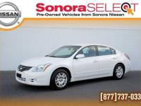 2012 NISSAN ALTIMA 2.5S, 2.5L I4 CVT, FWD, ONE OWNER,