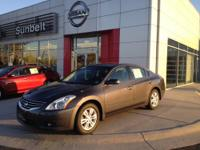 This outstanding example of a 2012 Nissan Altima 4dr