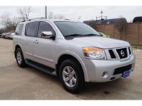 In this amazing 2012 Nissan Armada SV, your experience