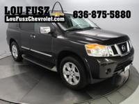 Local Trade in! 2012 Nissan Armada Platinum Stop by Lou