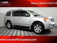 Options:  2012 Nissan Armada Sl|Silver|Suv Buying Made