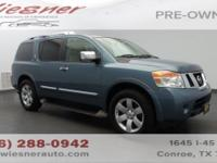 Tried-and-true, this Used 2012 Nissan Armada SL packs