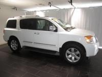 Options:  2012 Nissan Armada Sl|White|Clean Carfax. **