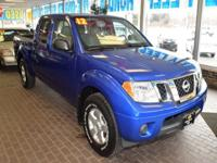 This outstanding example of a 2012 Nissan Frontier SV