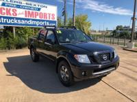 This 2012 Nissan Frontier PRO-4X is offered to you for