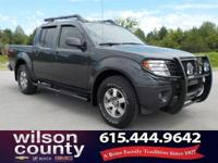 2012 Nissan Frontier PRO 4.0L V6 DOHC Night Armor Clean