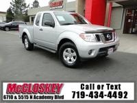 ONE OWNER! 2012 Nissan Frontier! Tow more in this