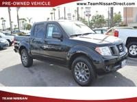 Options:  2012 Nissan Frontier Sv|Black/|V6 4.0L
