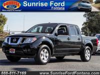The 2012 Nissan Frontier SV Crew Cab 4x2 shown in Super