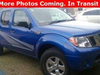 Options:  2012 Nissan Frontier Sv|Blue|Carfax