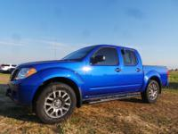 Options:  2012 Nissan Frontier |Blue|86|034 Miles|Stock