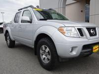 4WD. 2012 Nissan Frontier Odometer is 10342 miles below