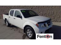 New Price! CARFAX One-Owner. Clean CARFAX. White 2012