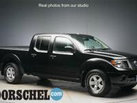 2012 Nissan Frontier SV BlackCARFAX One-Owner.