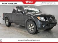 Carfax One Owner! 2012 Nissan Frontier PRO in Night