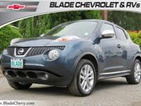 Juke SL, 30/25 Highway/City MPG AWD, Navigation System,