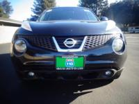 Options:  2012 Nissan Juke|Black|93852 Miles|Stock