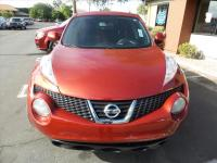 Options:  2012 Nissan Juke S 4Dr Crossover|Red|Grille