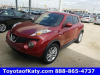 Options:  2012 Nissan Juke Sl|Red|Leather And Push