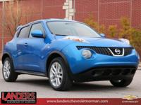CARFAX One-Owner. Electric Blue 2012 Nissan Juke SV FWD