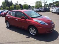 One Owner 2012 Nissan Leaf SV Hatchback, Warranty,