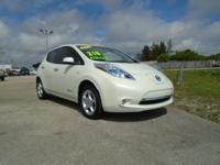 Hurry to Carl's for this 2012 Nissan Leaf SL with