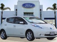 Options:  2012 Nissan Leaf Sv|White/|V  Automatic|26097