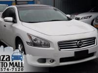Recent Arrival! 2012 Nissan Maxima 3.5 SV Winter Frost