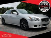 New Price! 2012 Nissan Maxima 3.5 S **CLEAN CARFAX,