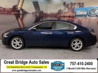 2012 Nissan Maxima ABS brakes, Alloy wheels, Compass,