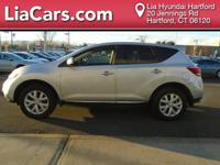 2012 Nissan Murano in Silver. CVT and AWD. One owner