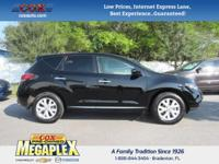 This 2012 Nissan Murano SL in Super Black is well