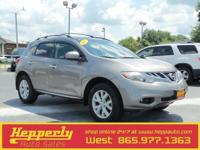 Clean CARFAX. This 2012 Nissan Murano SL in Platinum