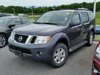Pathfinder SV and 4WD. Like new. Come to the experts!