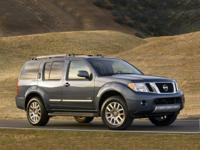 2012 Nissan Pathfinder LE Recent Arrival! Clean CARFAX.