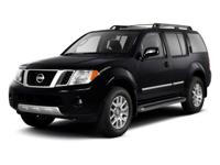 2012 Nissan Pathfinder Silver Dark Slate Metallic. ABS
