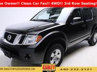 Nissan Pathfinder S 2012 New Price! CARFAX One-Owner.