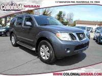 Check out this Certified 2012 Nissan Pathfinder Silver