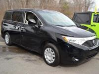 This 2012 Nissan Quest 4dr 4dr S features a 3.5L V6