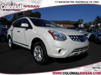 Right here we have a Certified 2012 Nissan Rogue SV