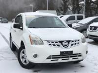 2012 Nissan Rogue S Special Edition Pearl White Rear