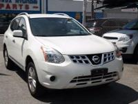 Recent Arrival! 2012 Nissan Rogue SV Pearl White AWD,
