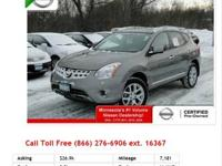 2012 Nissan Rogue S Platinum Graphite I4 2.5L Gas AWD
